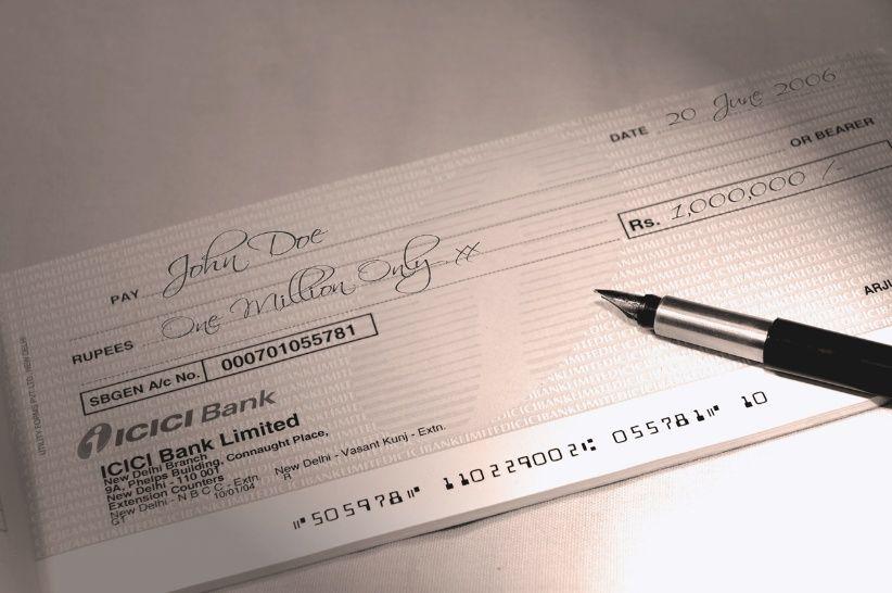 Los cheques rechazados sin fondos. El fantasma de la crisis
